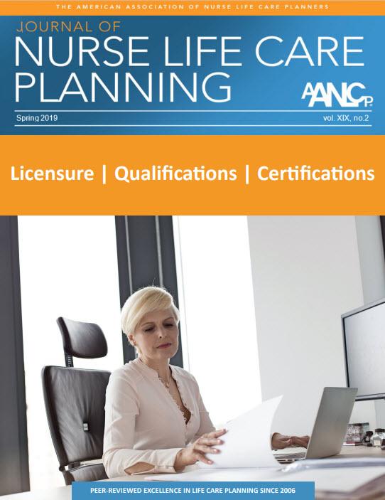AANLCP Journal Spring 2019