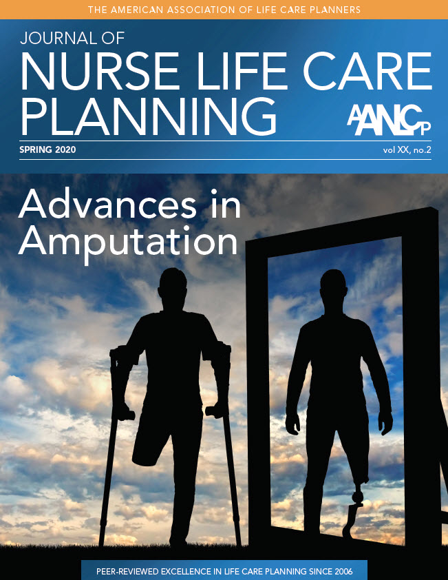AANLCP Journal Spring 2020 Advances in Amputation